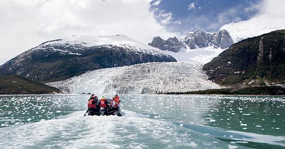 australis cruise pia glacier