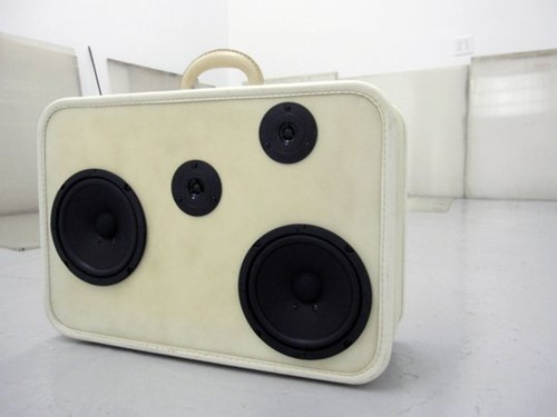 Turn your hardside into speakers
