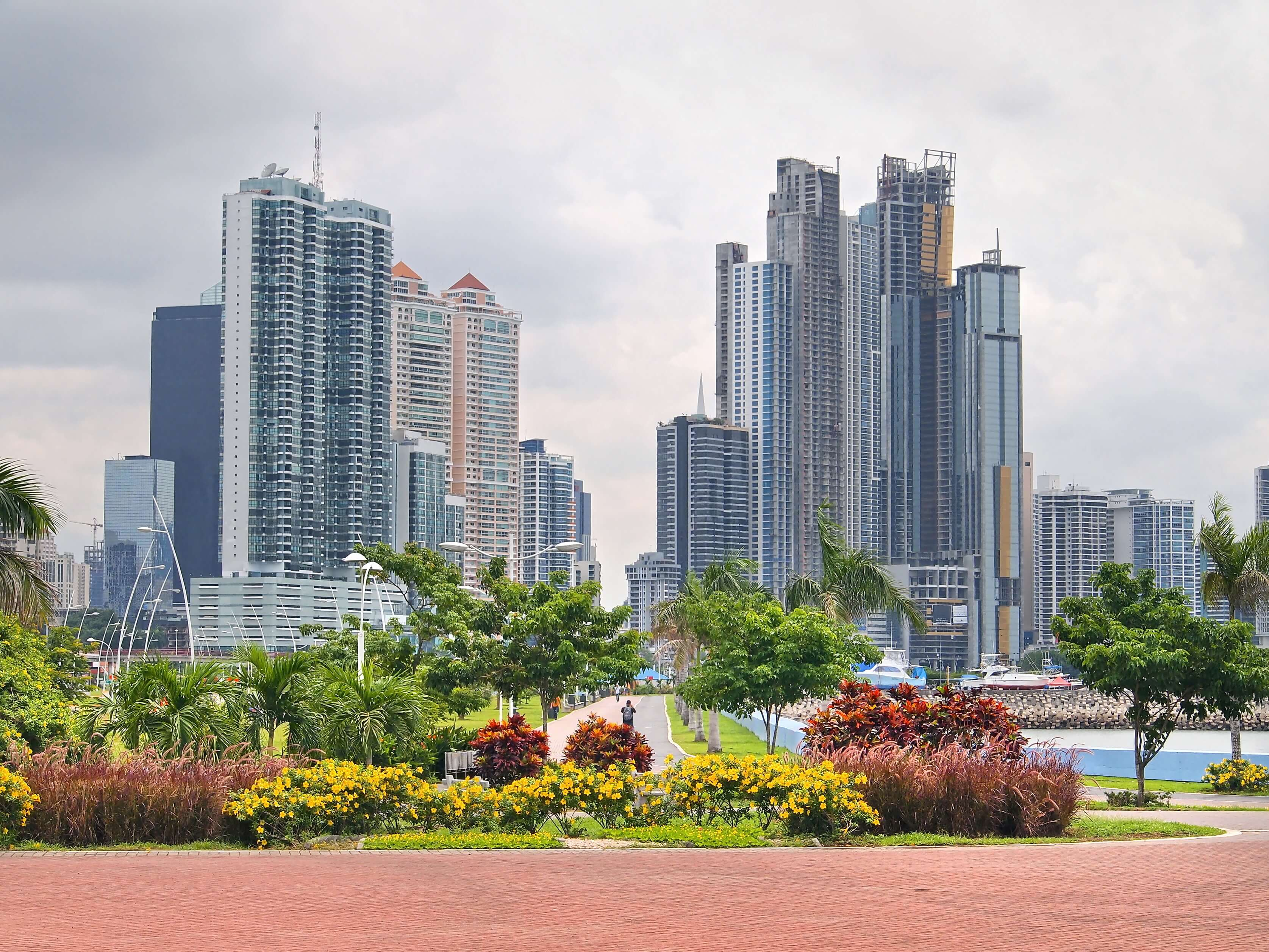 Panama City and the Canal Zone