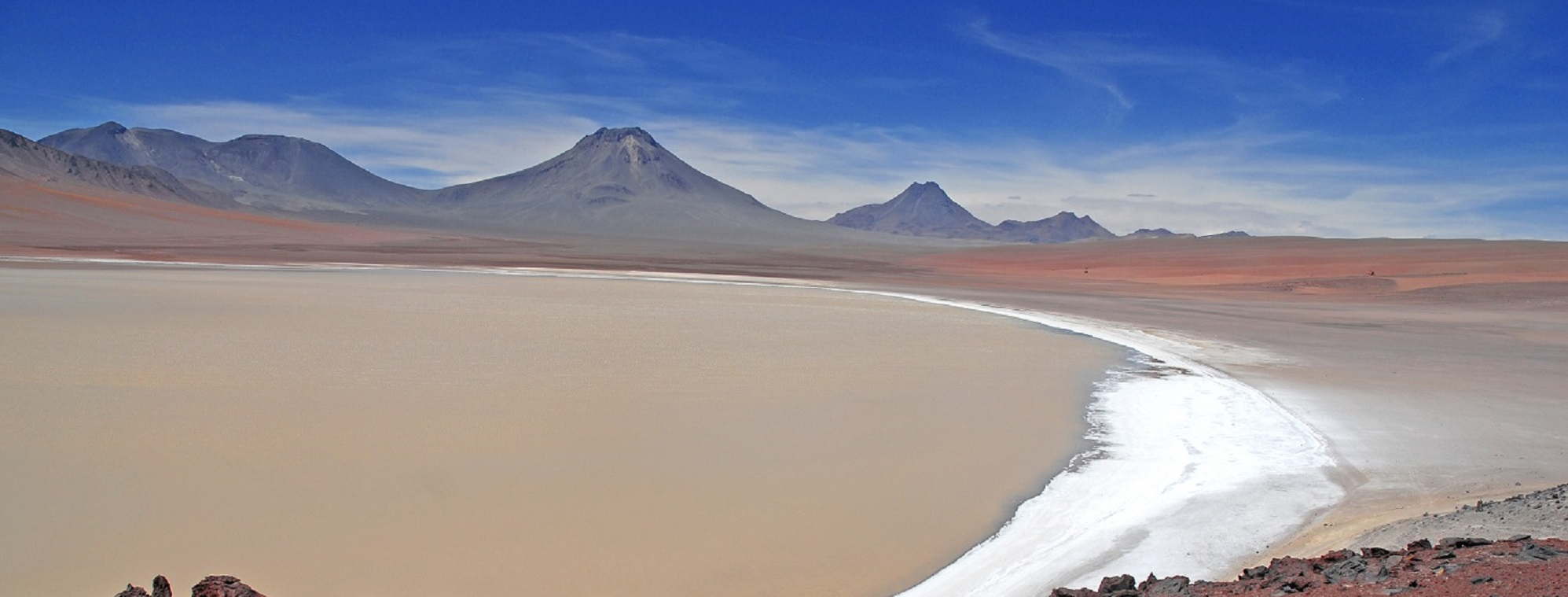 Chilean Islands And Deserts