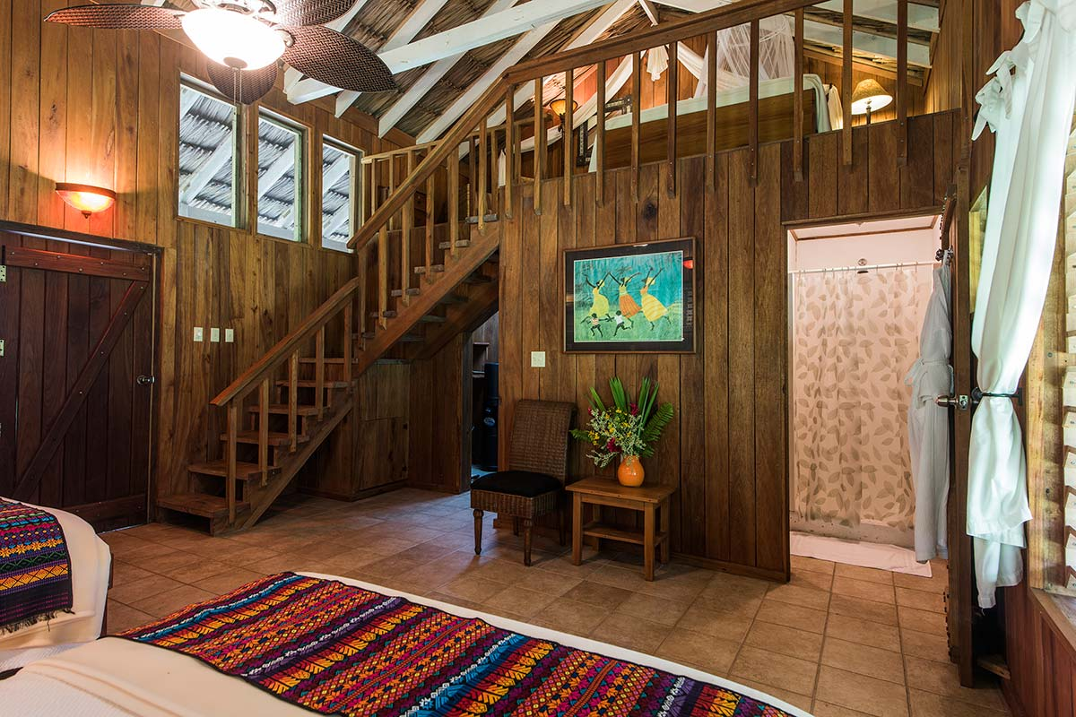 Chan Chich Lodge Rooms