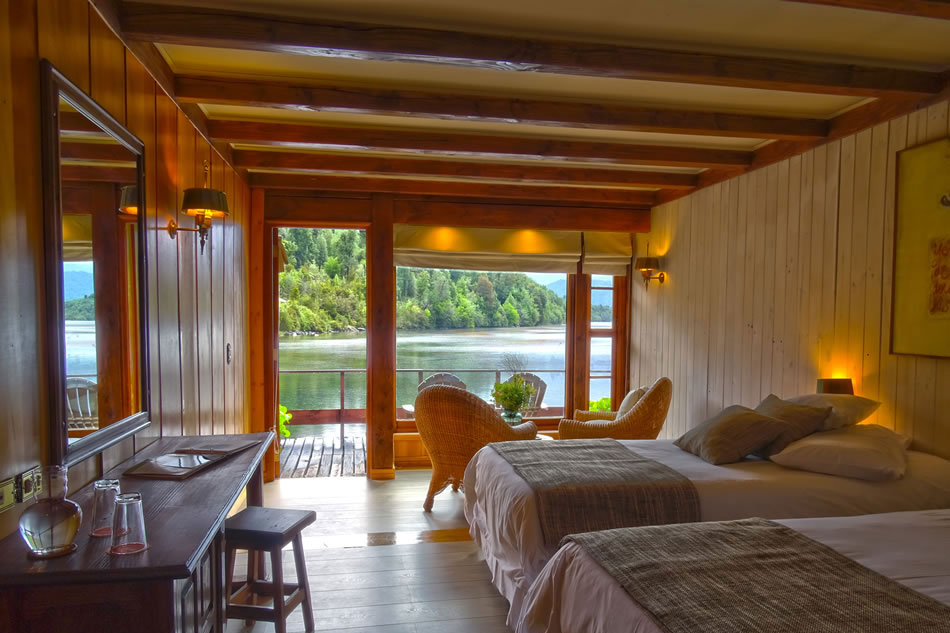 Puyuhuapi Lodge and Spa Rooms
