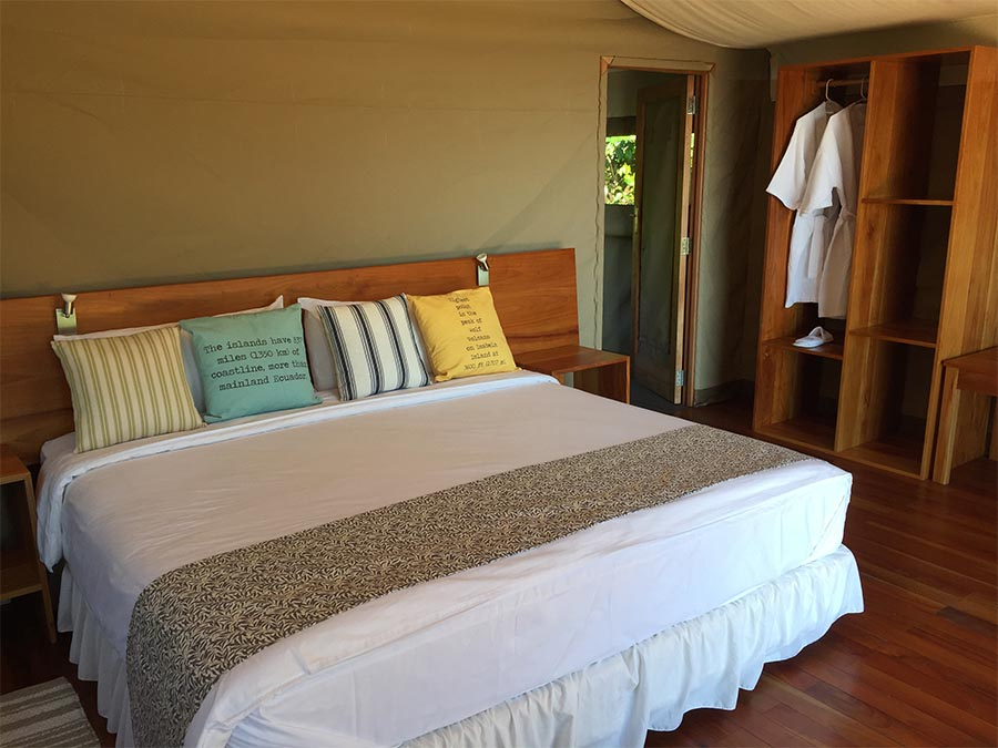 Scalesia Galapagos Lodge Rooms