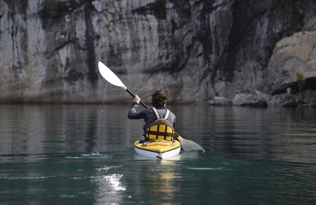 sea kayaking in argentina lake district