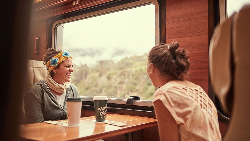 Train from Cusco to Machu Picchu with Incarail