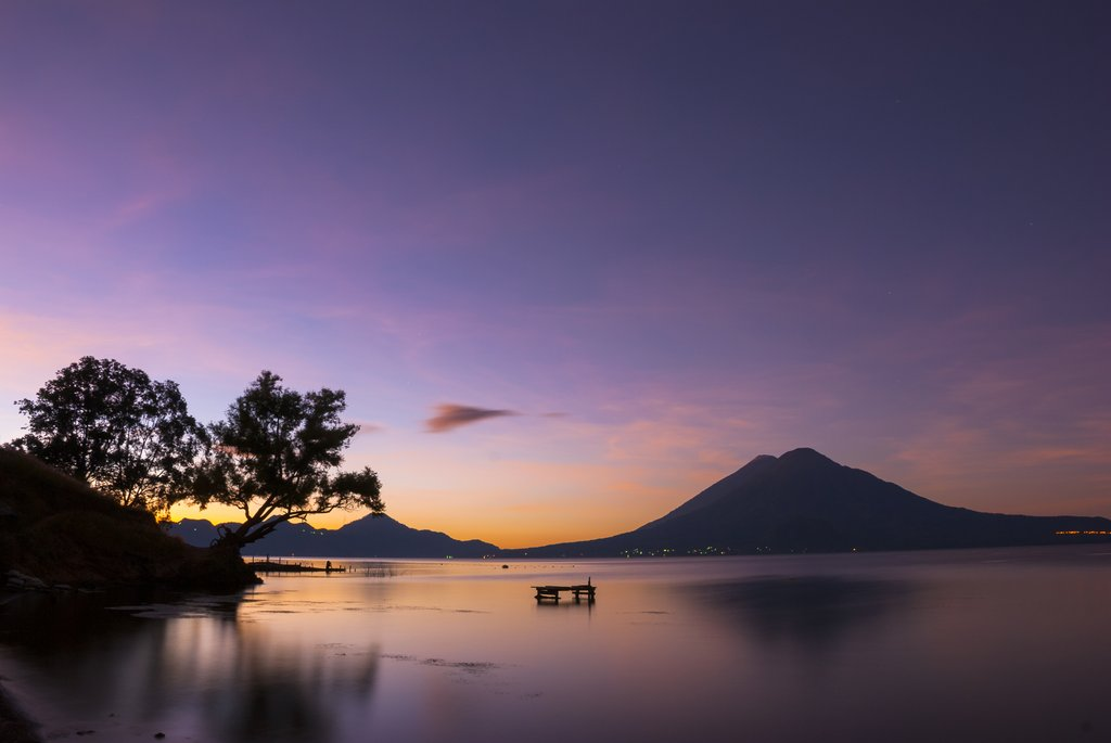 Dawn at Lake Atitlan, Guatemala