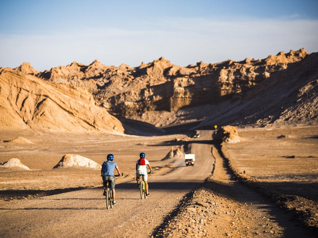 Cycling In Moon Valley