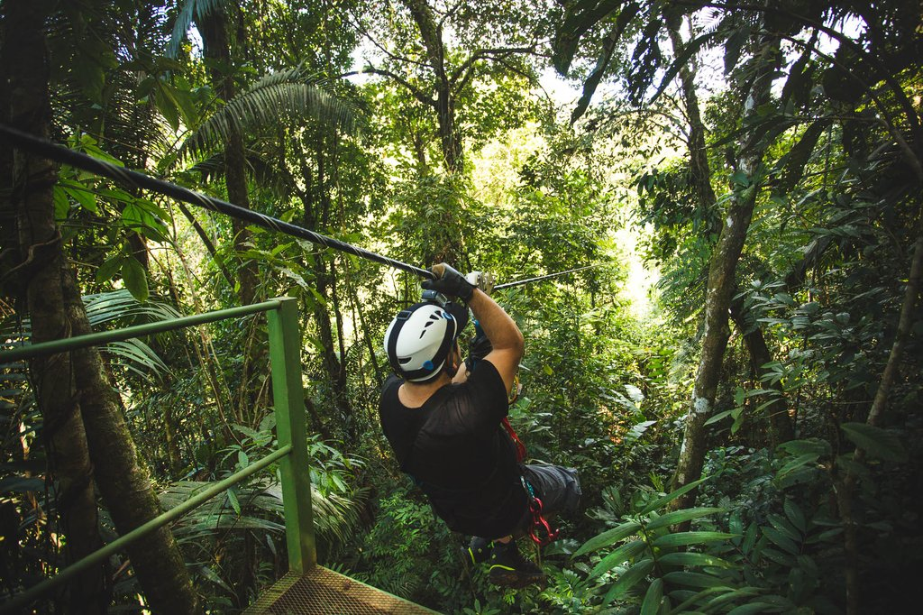Pacuare Lodge Zipline