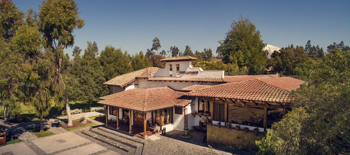 hacienda abraspungo riobamba ecuador