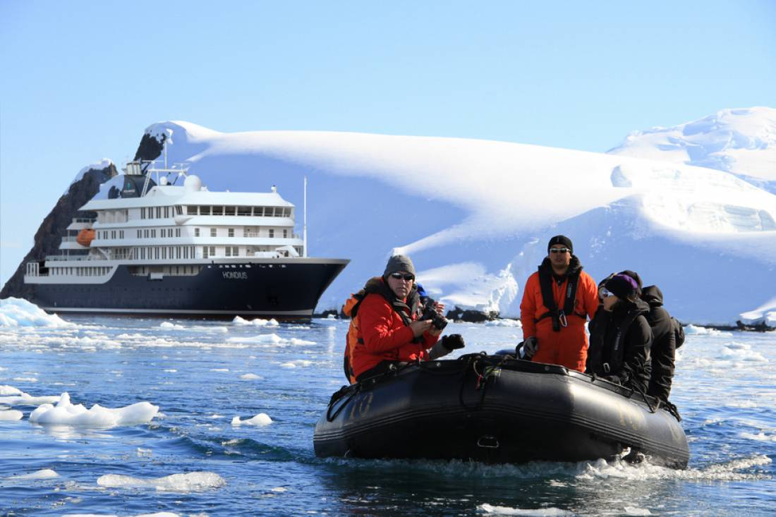M/V Hondius  - Antarctic and Arctic Cruise Ship