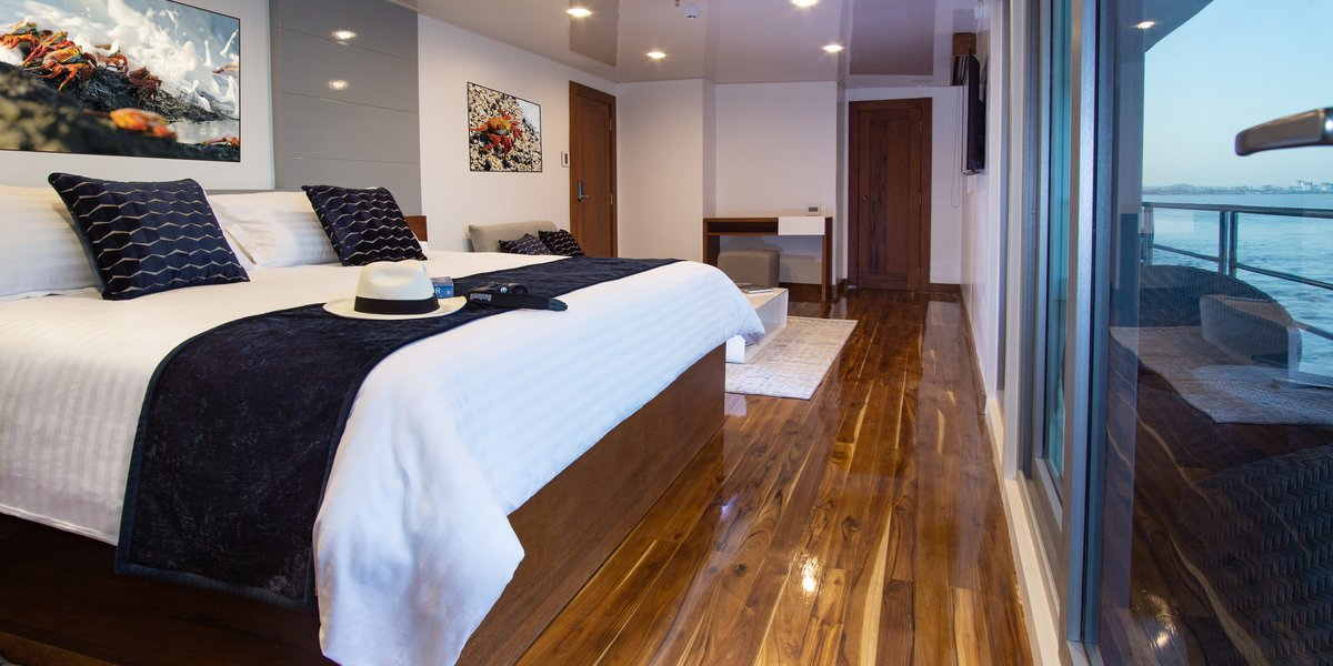 Infinity Luxury Galapagos Yacht Cabins