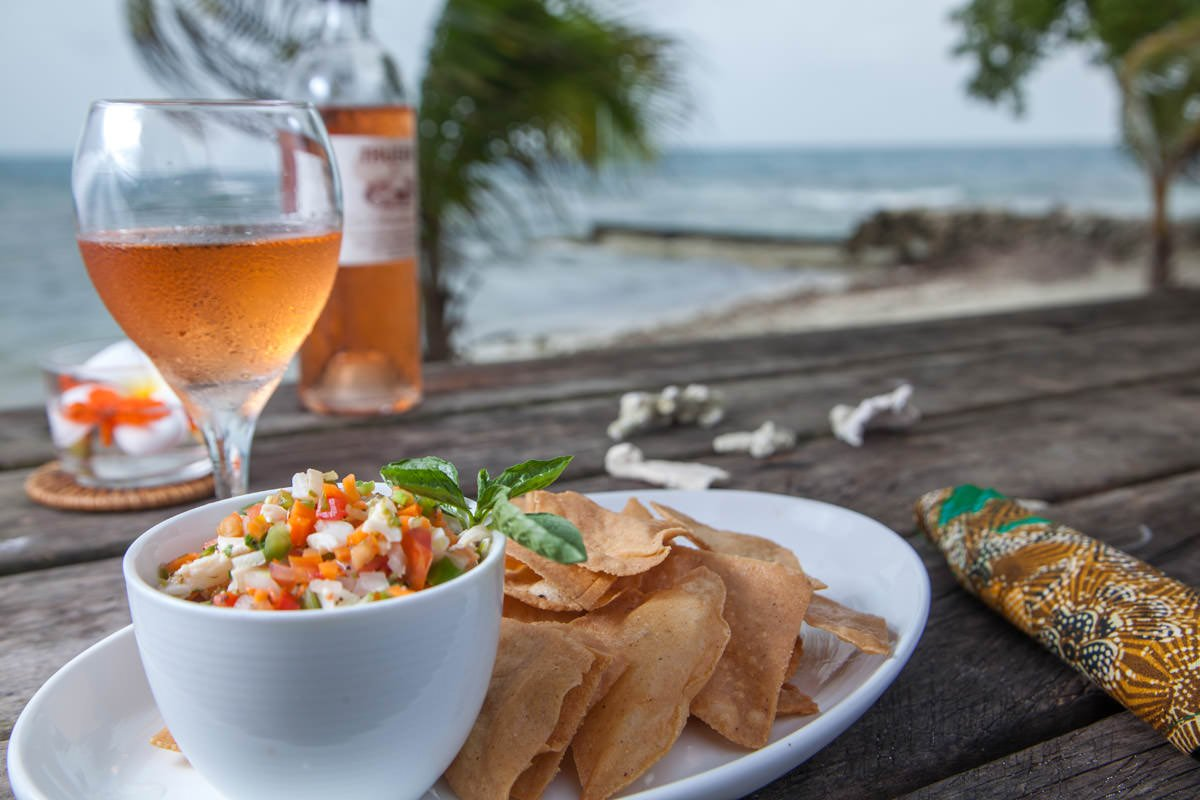 Coral Caye Private Island Dining