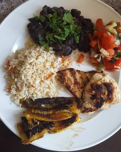 costa rican home-style food